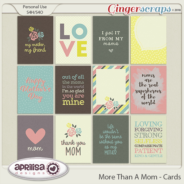 More Than A Mom - Cards by Aprilisa Designs
