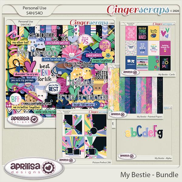 My Bestie - Bundle by Aprilisa Designs