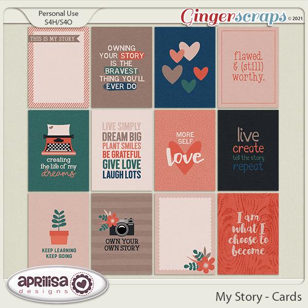 My Story - Cards by Aprilisa Designs