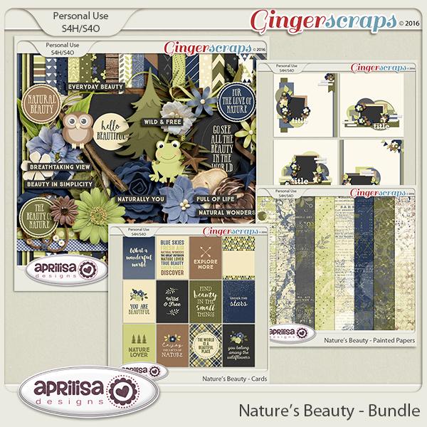 Nature's Beauty - Bundle by Aprilisa Designs
