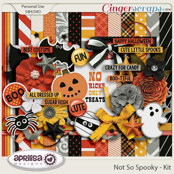 Not So Spooky - Kit by Aprilisa Designs