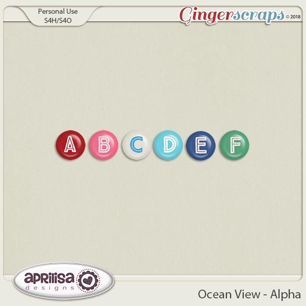 Ocean View - Alpha by Aprilisa Designs