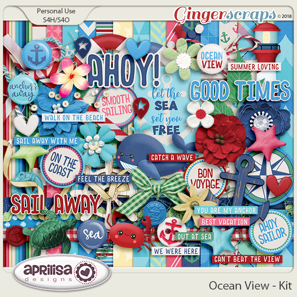 Ocean View - Kit by Aprilisa Designs