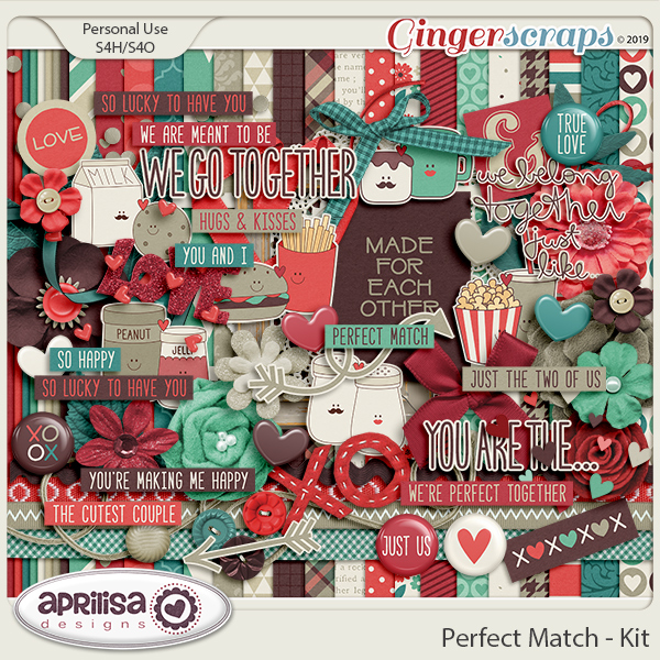 Perfect Match - Kit by Aprilisa Designs