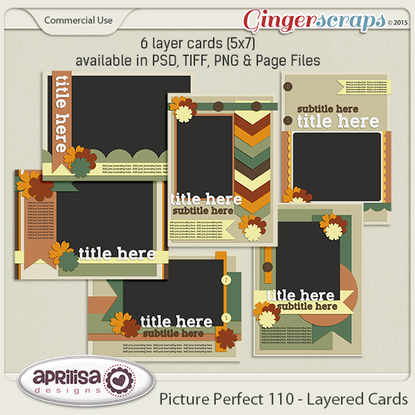 Picture Perfect 110 - Layered Cards