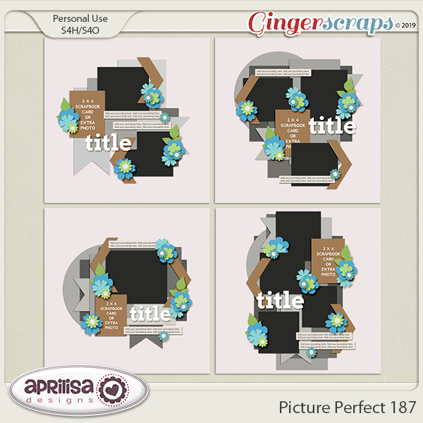 Picture Perfect 187 by Aprilisa Designs