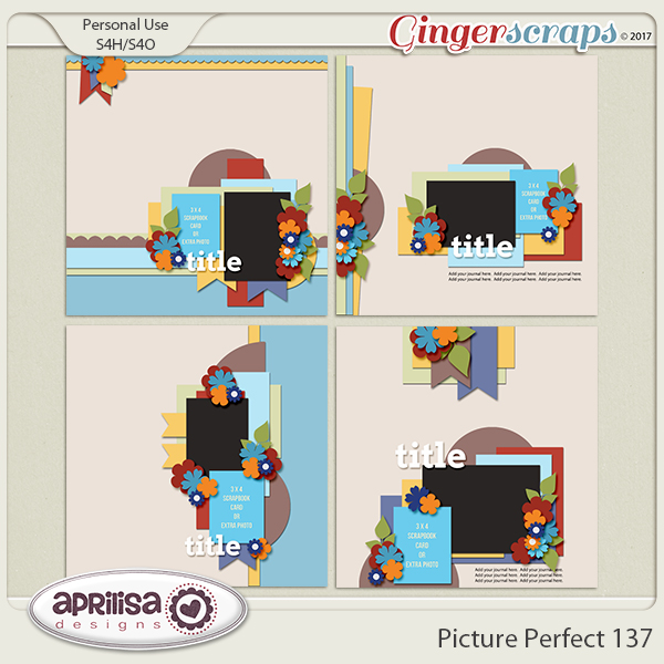 Picture Perfect 137 by Aprilisa Designs