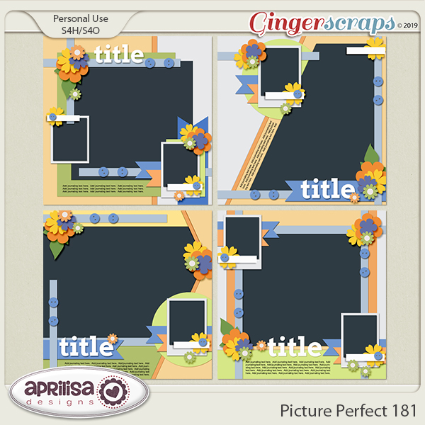 Picture Perfect 181 by Aprilisa Designs