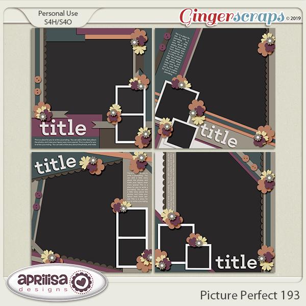 Picture Perfect 193 by Aprilisa Designs