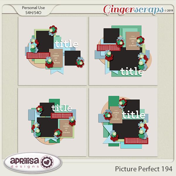 Picture Perfect 194 by Aprilisa Designs