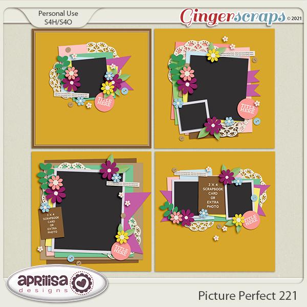 Picture Perfect 221 by Aprilisa Designs