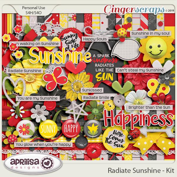 Radiate Sunshine - Kit by Aprilisa Designs