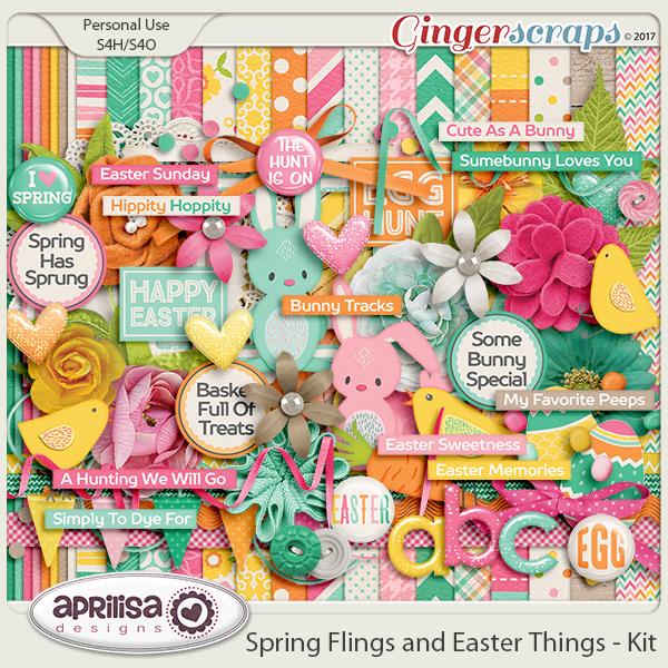 Spring Flings And Easter Things - Kit