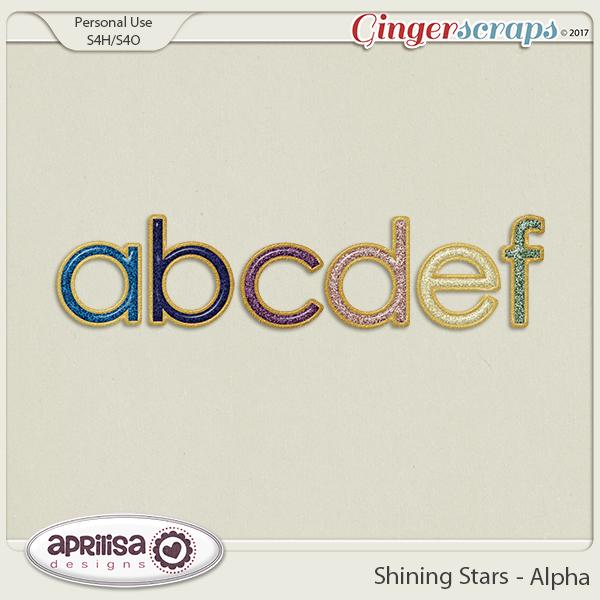 Shining Stars - Alpha by Aprilisa Designs