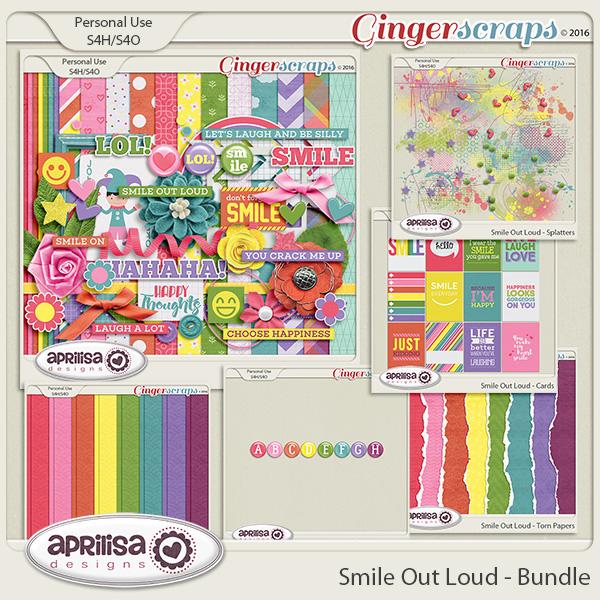 Smile Out Loud - Bundle by Aprilisa Designs