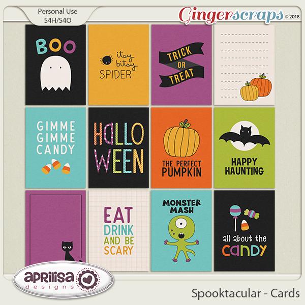 Spooktacular  - Cards