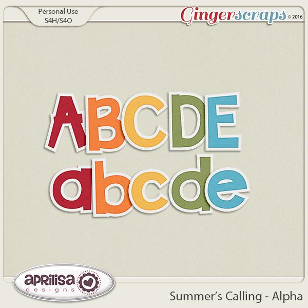 Summer's Calling - Alpha by Aprilisa Designs
