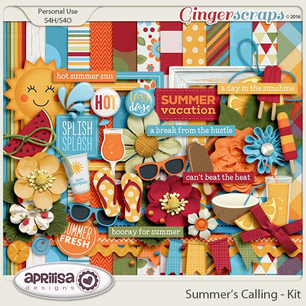 Summer's Calling - Kit by Aprilisa Designs