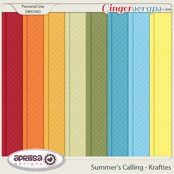 Summer's Calling - Krafties by Aprilisa Designs