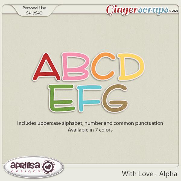 With Love - Alpha by Aprilisa Designs