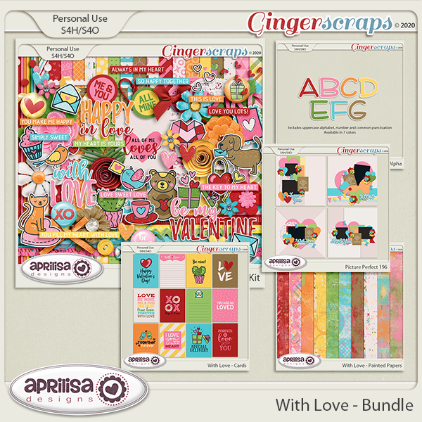 With Love - Bundle by Aprilisa Designs