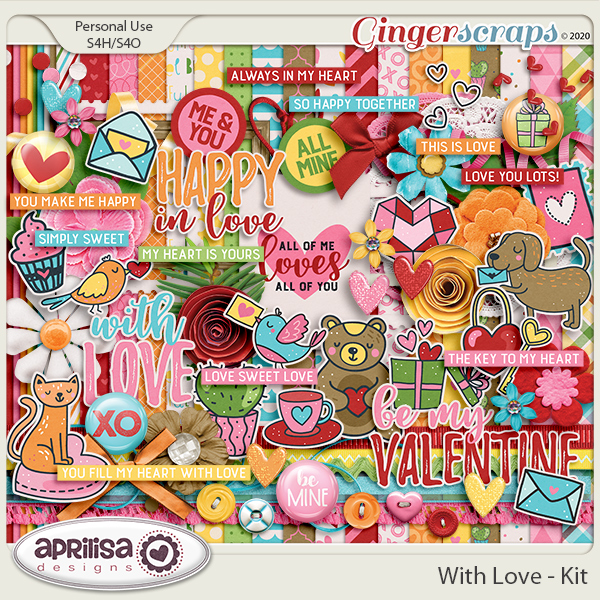 With Love - Kit by Aprilisa Designs