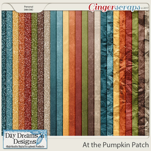 At the Pumpkin Patch {Glitters} by Day Dreams 'n Designs