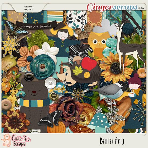 Boho Fall-Page Kit