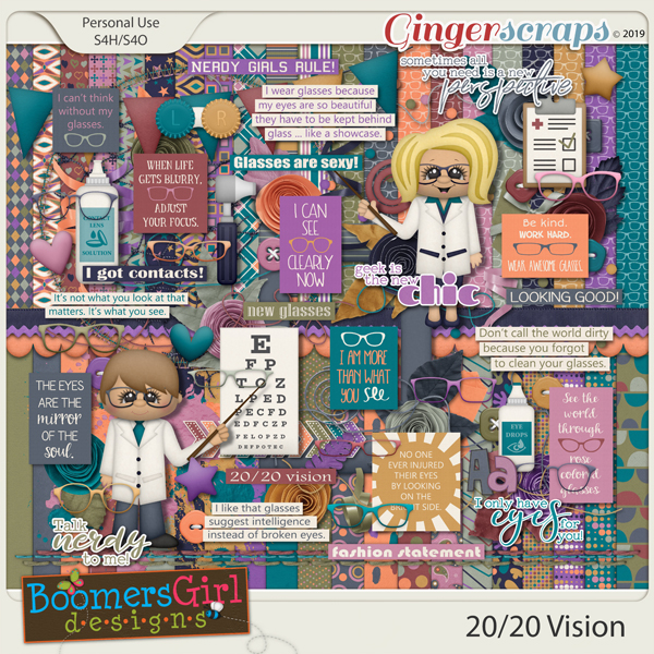 20/20 Vision by BoomersGirl Designs