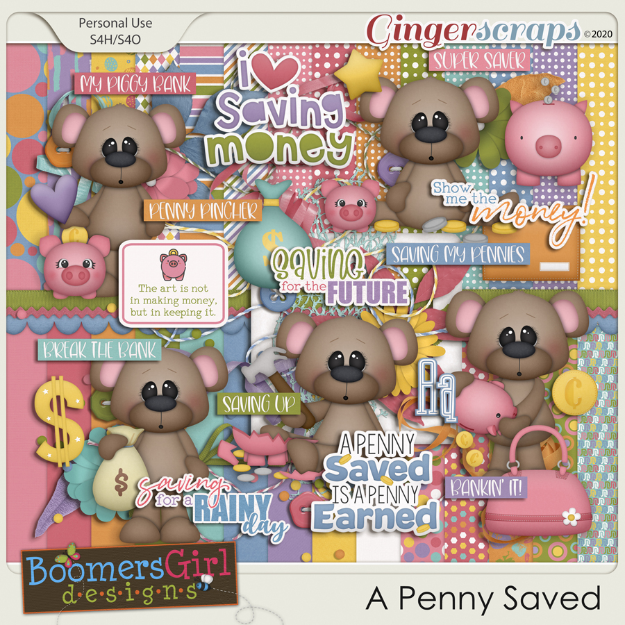 A Penny Saved by BoomersGirl Designs