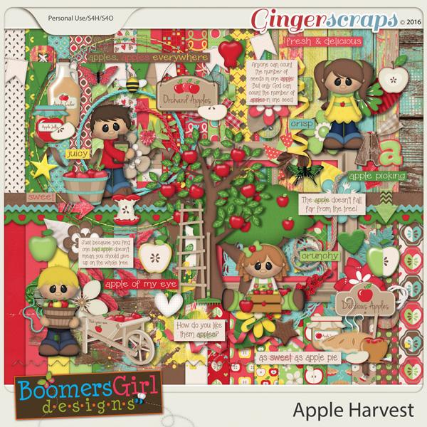 Apple Harvest by BoomersGirl Designs