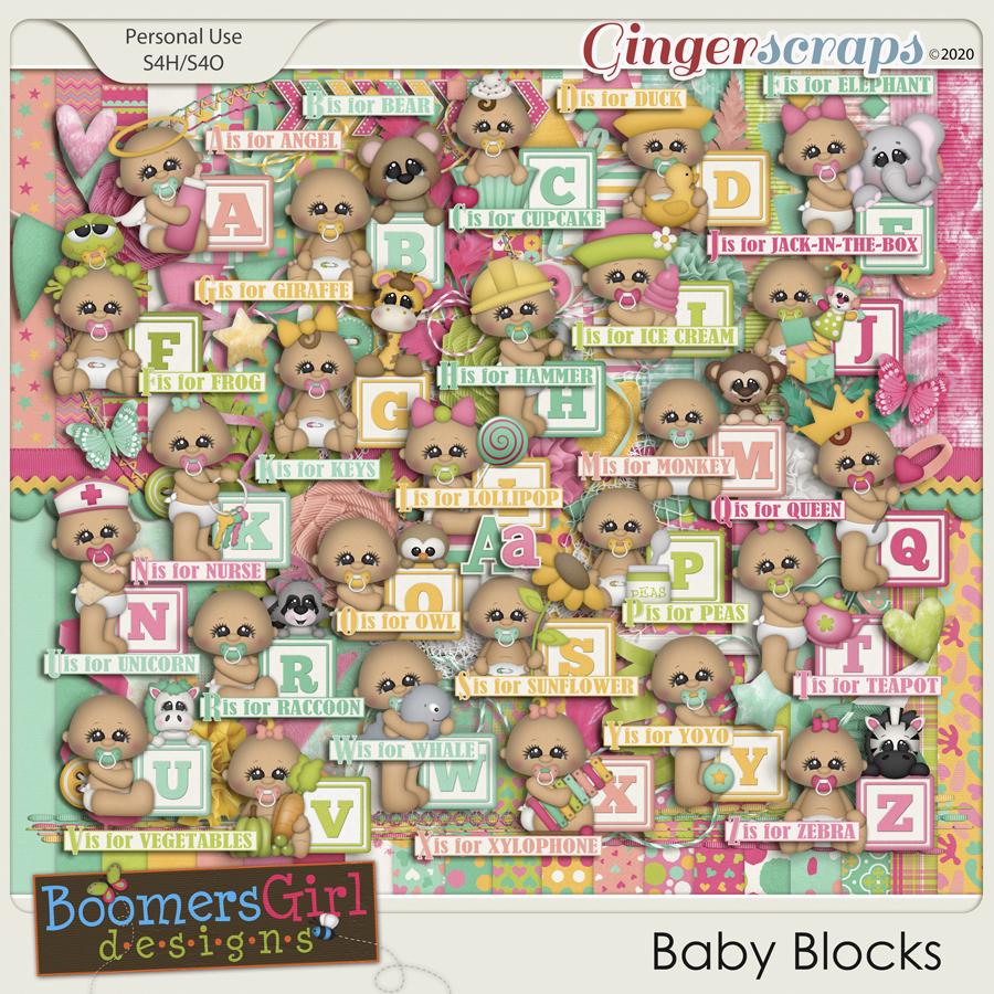 Baby Blocks by BoomersGirl Designs
