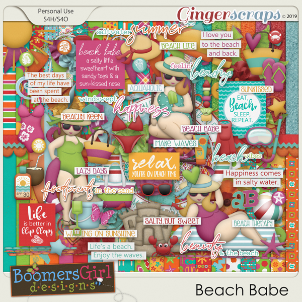 Beach Babe by BoomersGirl Designs