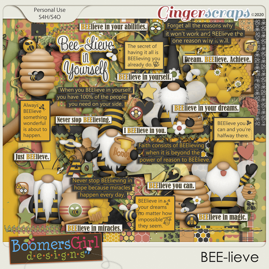 BEE-lieve by BoomersGirl Designs