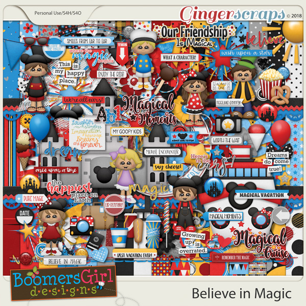 Believe in Magic by BoomersGirl Designs