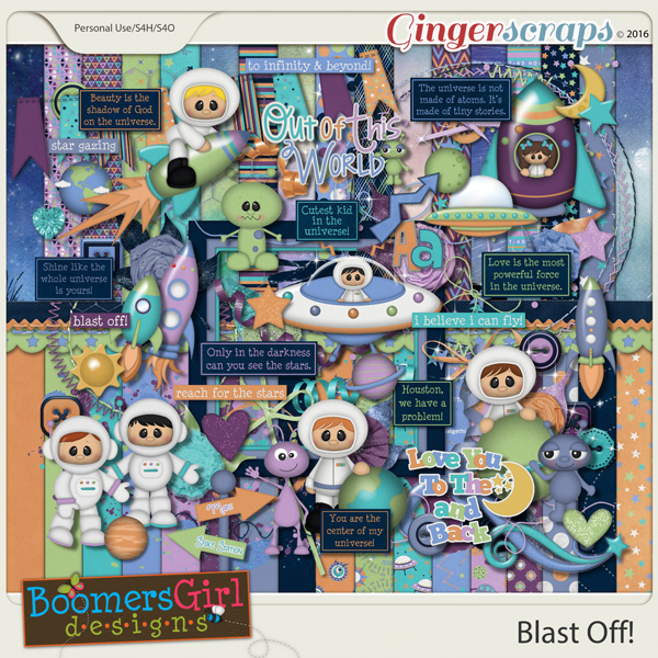 Blast Off! by BoomersGirl Designs