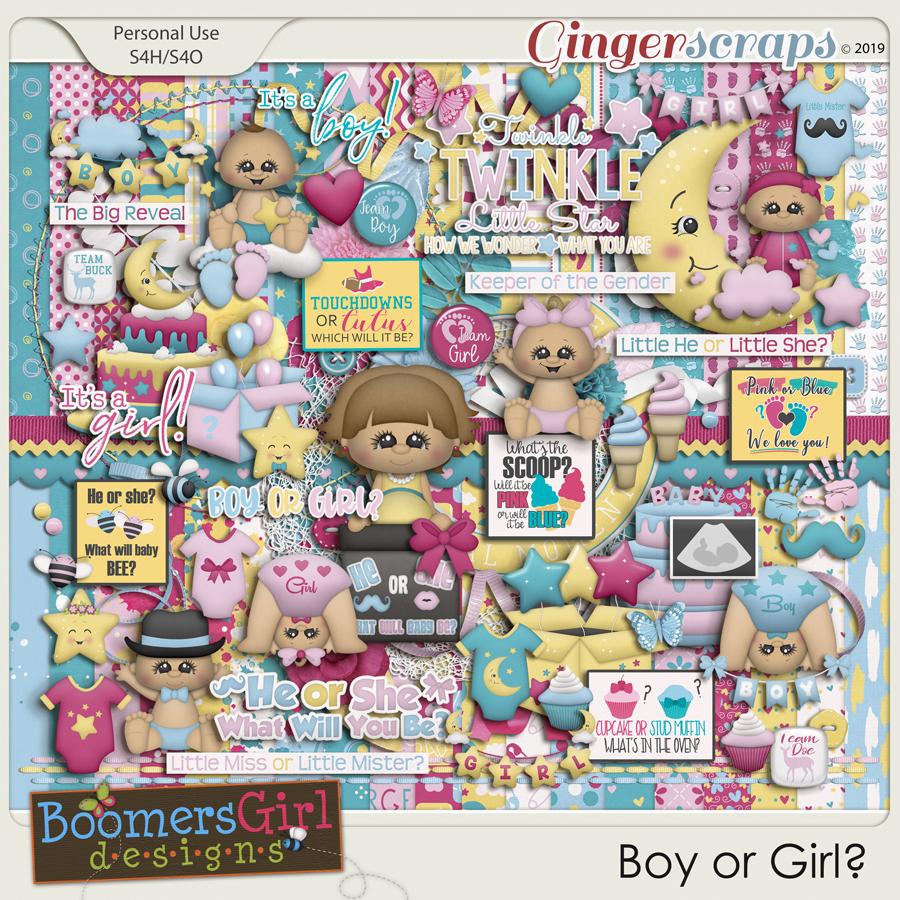 Boy or Girl? by BoomersGirl Designs