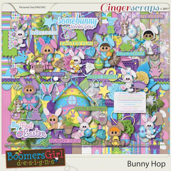 Bunny Hop by BoomersGirl Designs