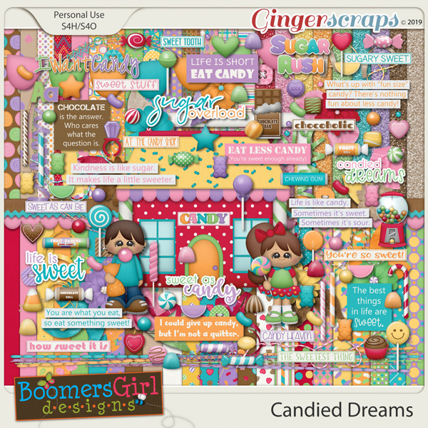 Candied Dreams by BoomersGirl Designs