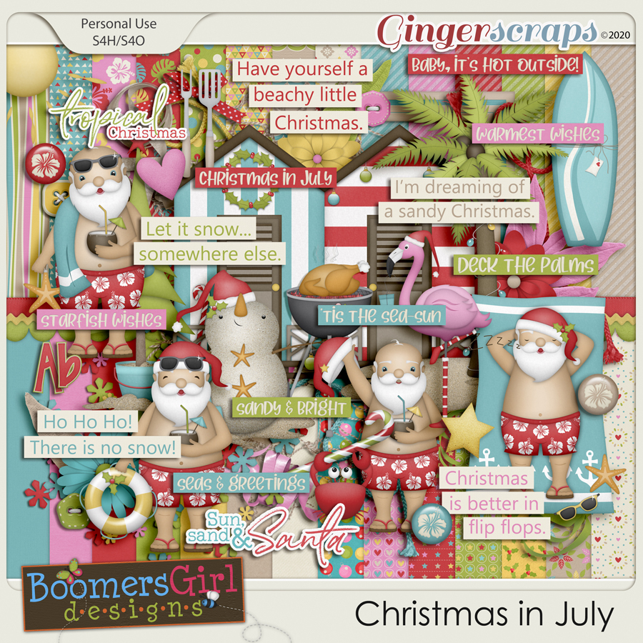 Christmas in July by BoomersGirl Designs