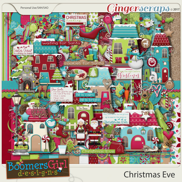 Christmas Eve by BoomersGirl Designs