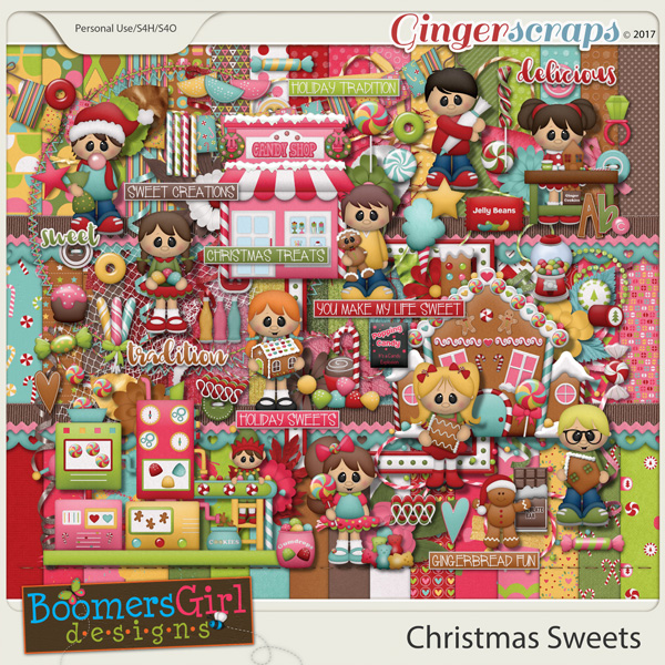 Christmas Sweets by BoomersGirl Designs