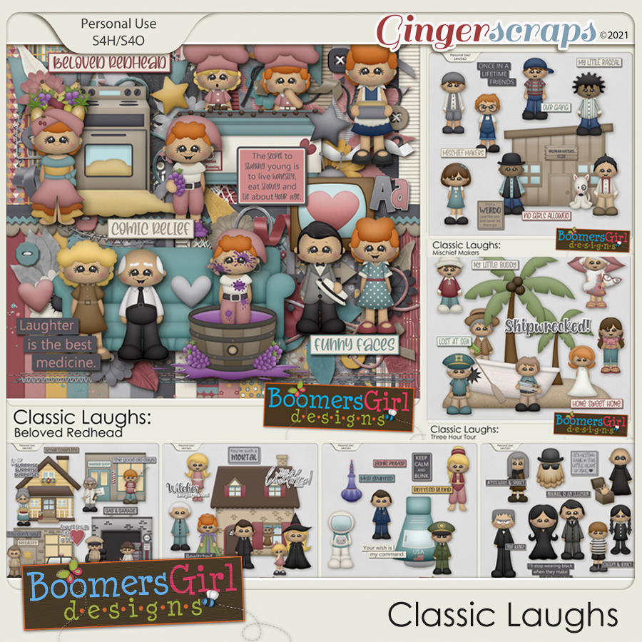 Classic Laughs by BoomersGirl Designs