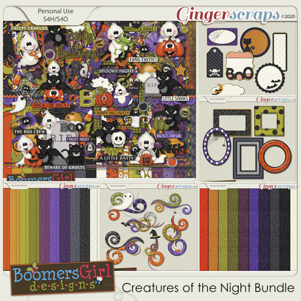 Creatures of the Night Bundle by BoomersGirl Designs