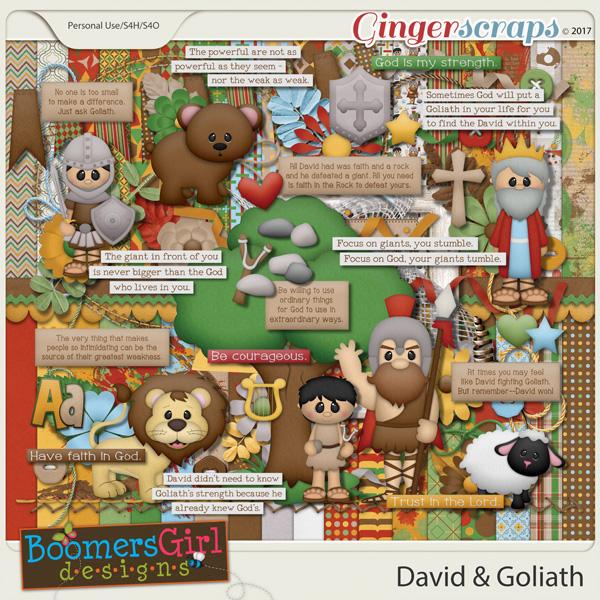David & Goliath by BoomersGirl Designs