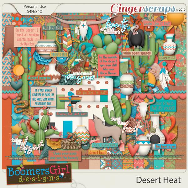 Desert Heat by BoomersGirl Designs