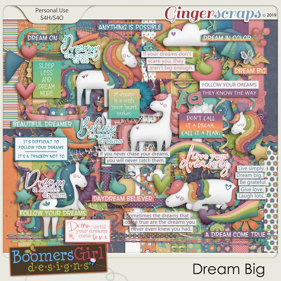 Dream Big by BoomersGirl Designs