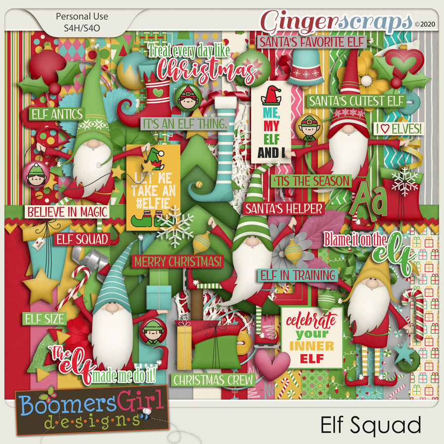 Elf Squad by BoomersGirl Designs