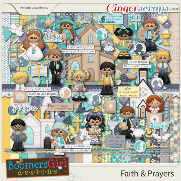 Faith & Prayers by BoomersGirl Designs