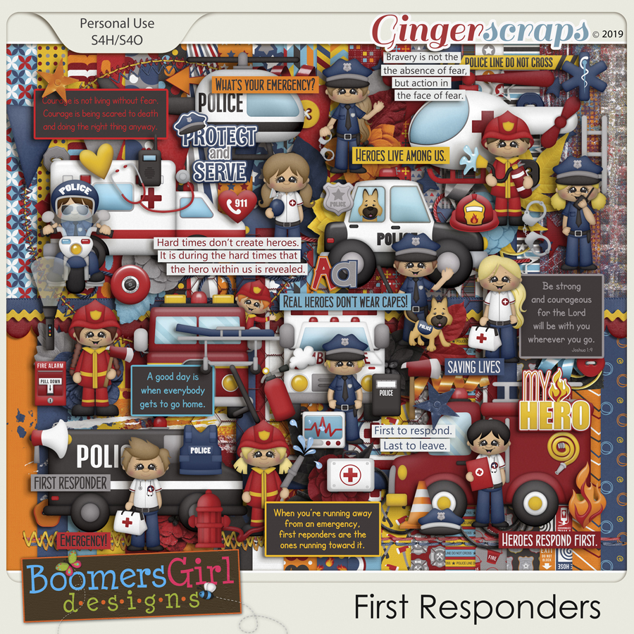 First Responders by BoomersGirl Designs